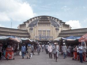 Phnom Penh - centrale markt