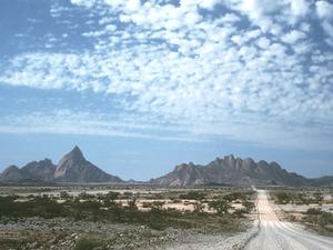 Namib Naukluft - woestijnlandschap