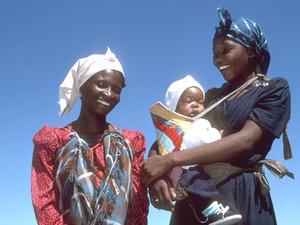 Namibische vrouwen