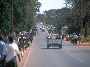 Lusaka - uitvalsweg
