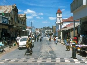 Zanzibar - straatbeeld