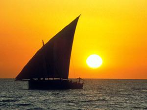 Zanzibar – zonsondergang met dhow