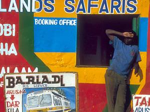 Arusha – kantoor busbedrijfje