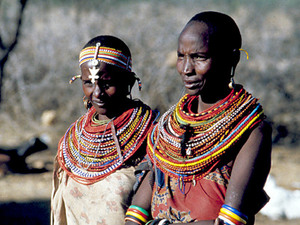 Samburu NP - Samburuvrouwen