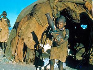 Lake Turkana - Turkana nederzetting
