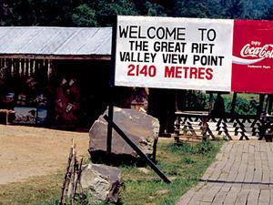 Gezicht op Riftvalei
