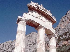 Delphi - tempel van Apollon