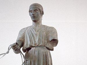 Delphi - museum, de wagenmenner
