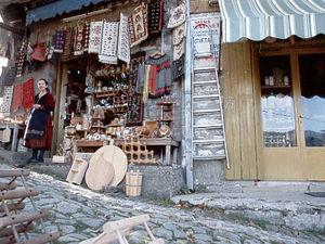 Kalambaka - straatbeeld