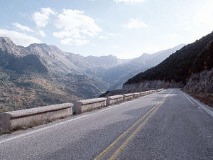 Noord-Griekenland - weg