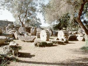 Olympia - ruïnes
