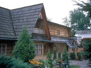 Zakopane - houten huis