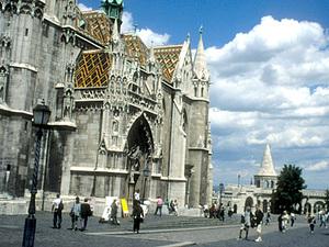 Boedapest - stadsdeel Buda