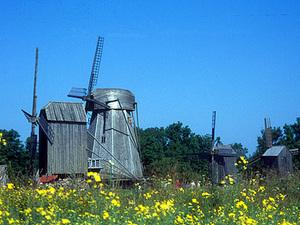 Saaremaa - molens