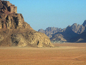 Petra – gekleurde rotsen