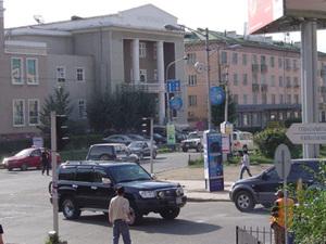 Ulaanbaatar - straatbeeld