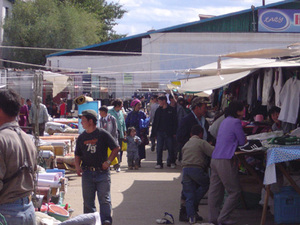 Tsetserleg - markt