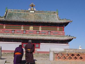 Karakorum - Erdene Zuu klooster (binnen)