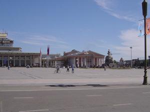 Ulaanbaatar - Sûkhbataar plein