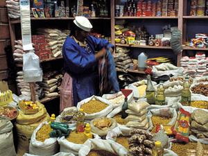 Markt in Uyuni