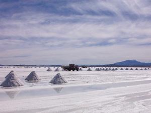 Salar de Uyuni - zoutwinning