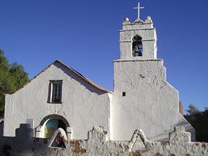 San Pedro de Atacama - het kerkje
