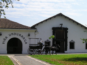 Santiago de Chile - wijngaard Undurraga