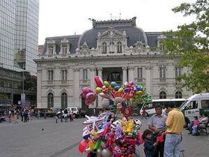 Santiago de Chile - het centrale plein