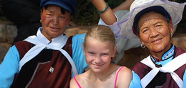 Met de kinderen naar China