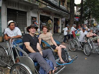 Fietsen in Vietnam en Cambodja