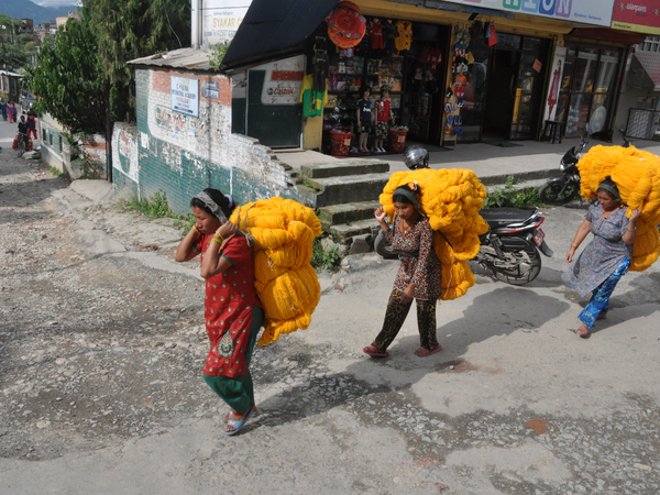 Family Nepal in juli