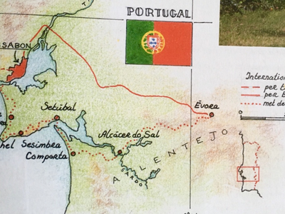 Fietsreis Portugal, 9 dgn