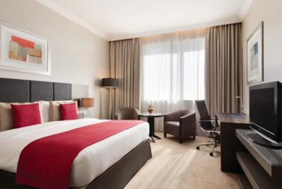 Abu Dhabi ramada hotel room
