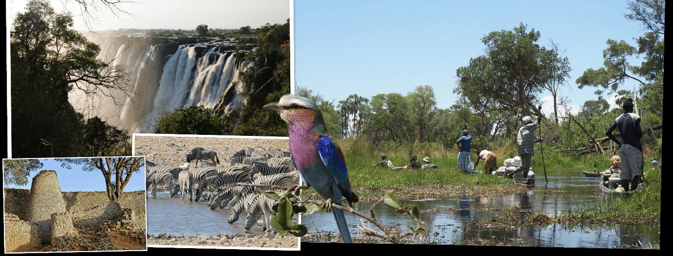 Zuid-Afrika, Botswana & Zimbabwe
