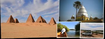 Overzicht Soedan rondreizen van Djoser