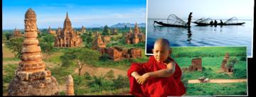 Overzicht Myanmar rondreizen van Djoser