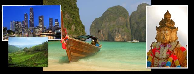 Thailand, Maleisië & Singapore
