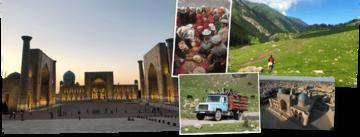 Overzicht Kirgizie rondreizen van Djoser
