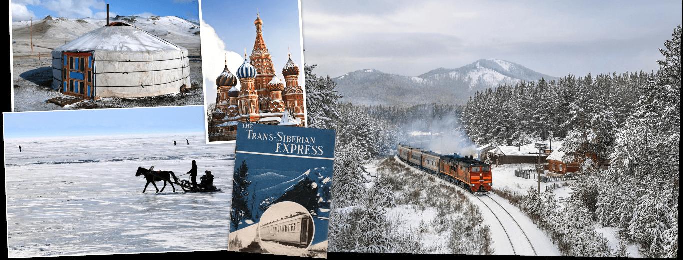 Winter Transsiberië Express