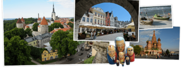 Overzicht Litouwen, Letland, Estland & Rusland rondreizen van Djoser