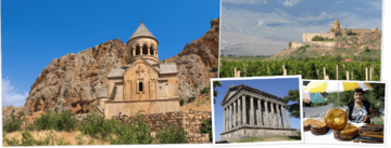 Overzicht Armenië rondreizen van Djoser