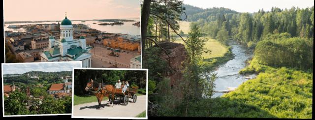 Litouwen, Letland, Estland & Finland