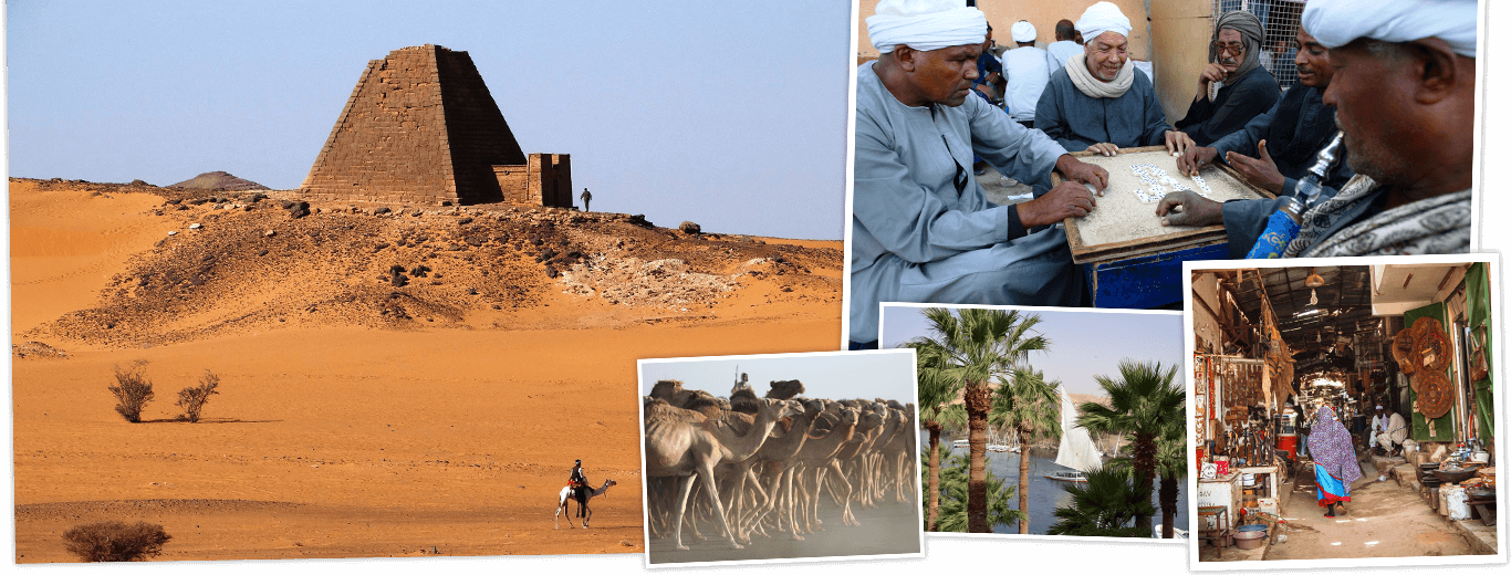 Egypte en Soedan