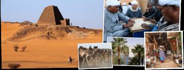 Overzicht Egypte en Soedan rondreizen van Djoser