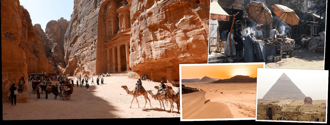 Egypte & Jordanië