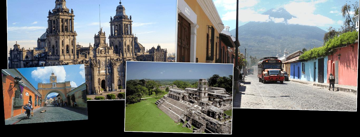 Mexico, Guatemala & Honduras